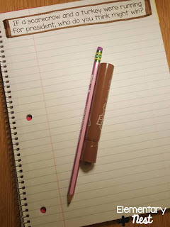 November Writing Journal Prompt- November Resources and two FREEBIES to use in November for primary classrooms- fall activities