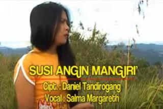 Lirik Lagu Toraja Susiri Angin Mangiri' (Salma Margareth)
