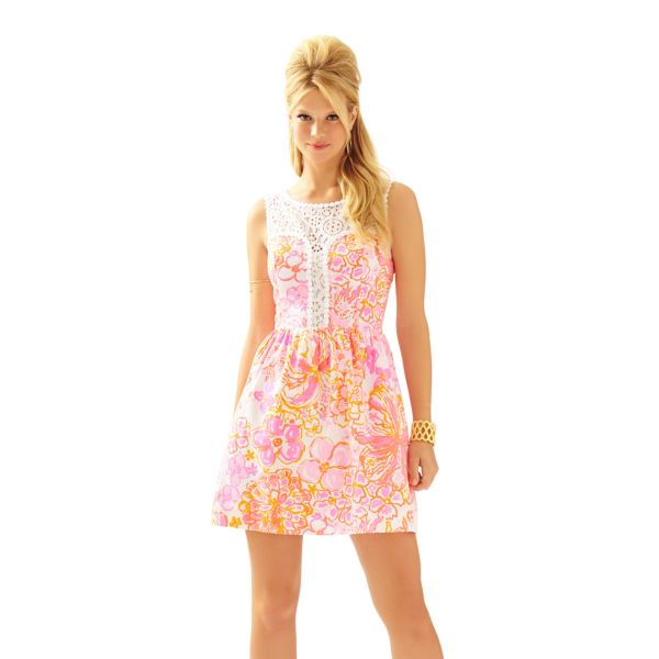 Lilly Pulitzer Shift Dress Pattern Design
