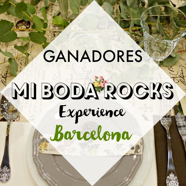 ganadores mi boda rocks experience barcelona octubre 2016