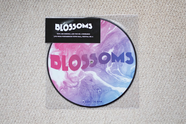 blossoms, festival, live, record store day, rsd, rsd17, rsd2017, blossom, live album, exclusive vinyl, record, 10 inch, picture disc