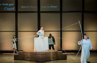 Monteverdi: Il ritorno d'Ulisse in patria - The Grange Festival - Anna Bonitatibus, Harry Nicoll (photo Robert Workman)