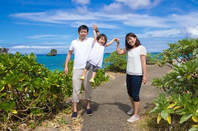 沖縄 家族 ロケーションフォト