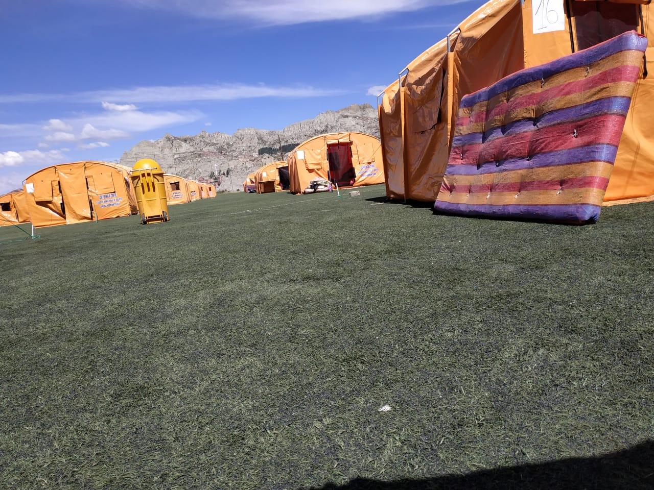 180 familias perdieron todo por la inestabilidad de un terreno que fue botadero de basura hace 40 años / ÁNGEL SALAZAR