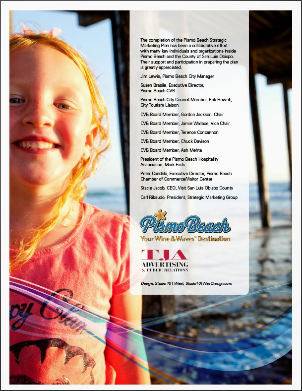 Pismo Beach - Marketing Plan - Back Cover