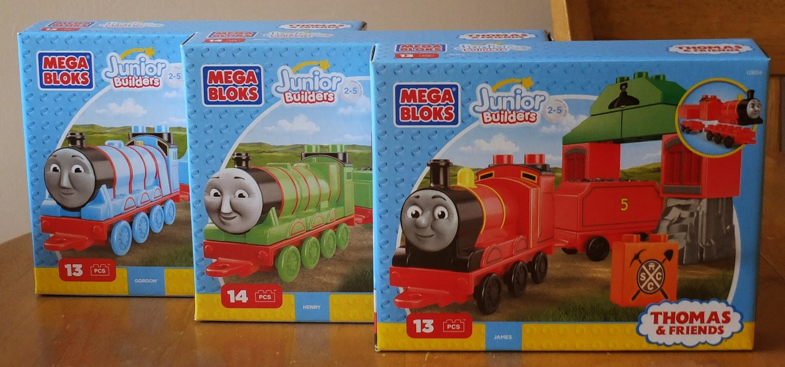 Thomas and Friends Mega Bloks