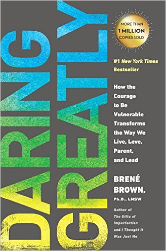Brené Brown, Daring Greatly, books, journals, inspiration, motivation, self-help, self-care, love yourself,