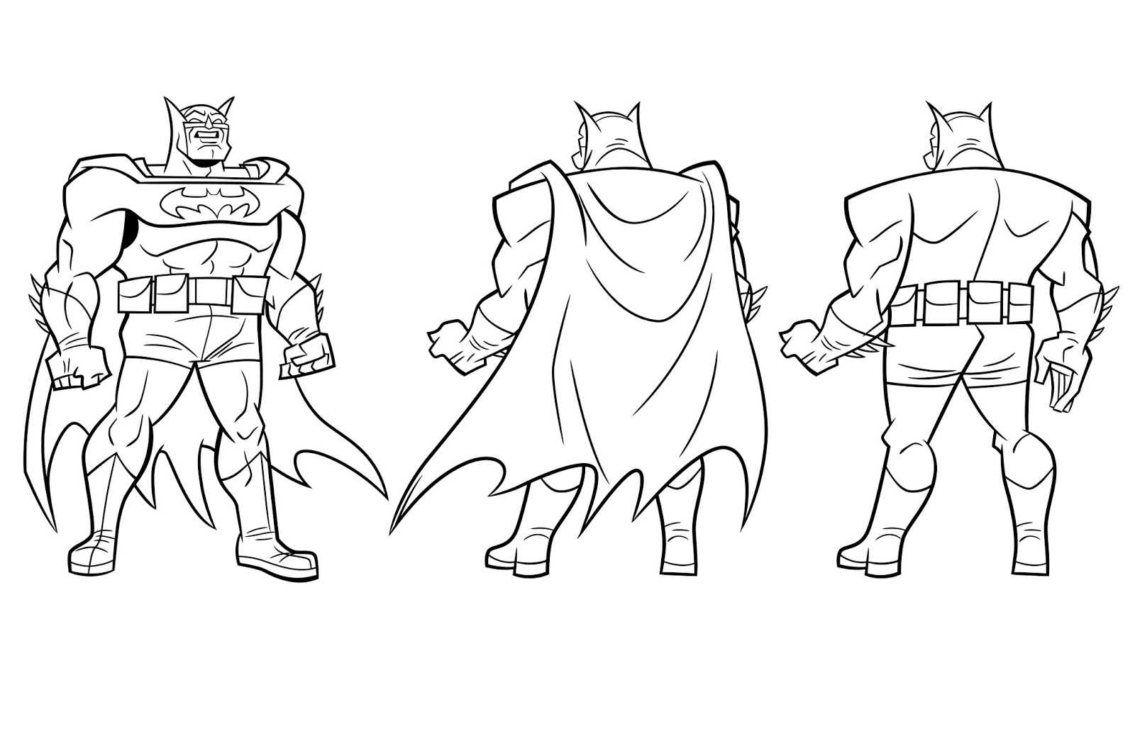 Batman The Brave And The Bold Coloring Pages Coloring Pages
