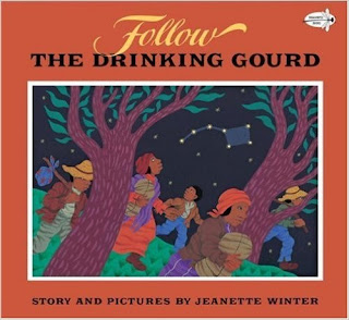 http://www.amazon.com/Follow-Drinking-Gourd-Dragonfly-Books/dp/0679819975/ref=sr_1_1?ie=UTF8&qid=1436493822&sr=8-1&keywords=follow+the+drinking+gourd