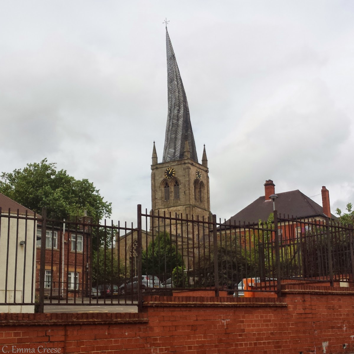 Roadtrip to Derbyshire: Crooked spires and a couple of tarts - Chesterfield