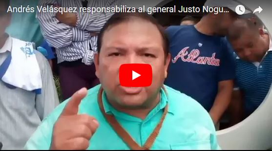 Por Fin : Andrés Velásquez llama al pueblo a la calle!
