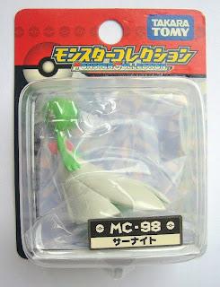 Gardevoir Pokemon figure Takara Tomy Monster Collection MC series