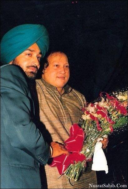 Punjabi Singer Malkeet Singh and Nusrat Fateh Ali Khan | NusratSahib.Com
