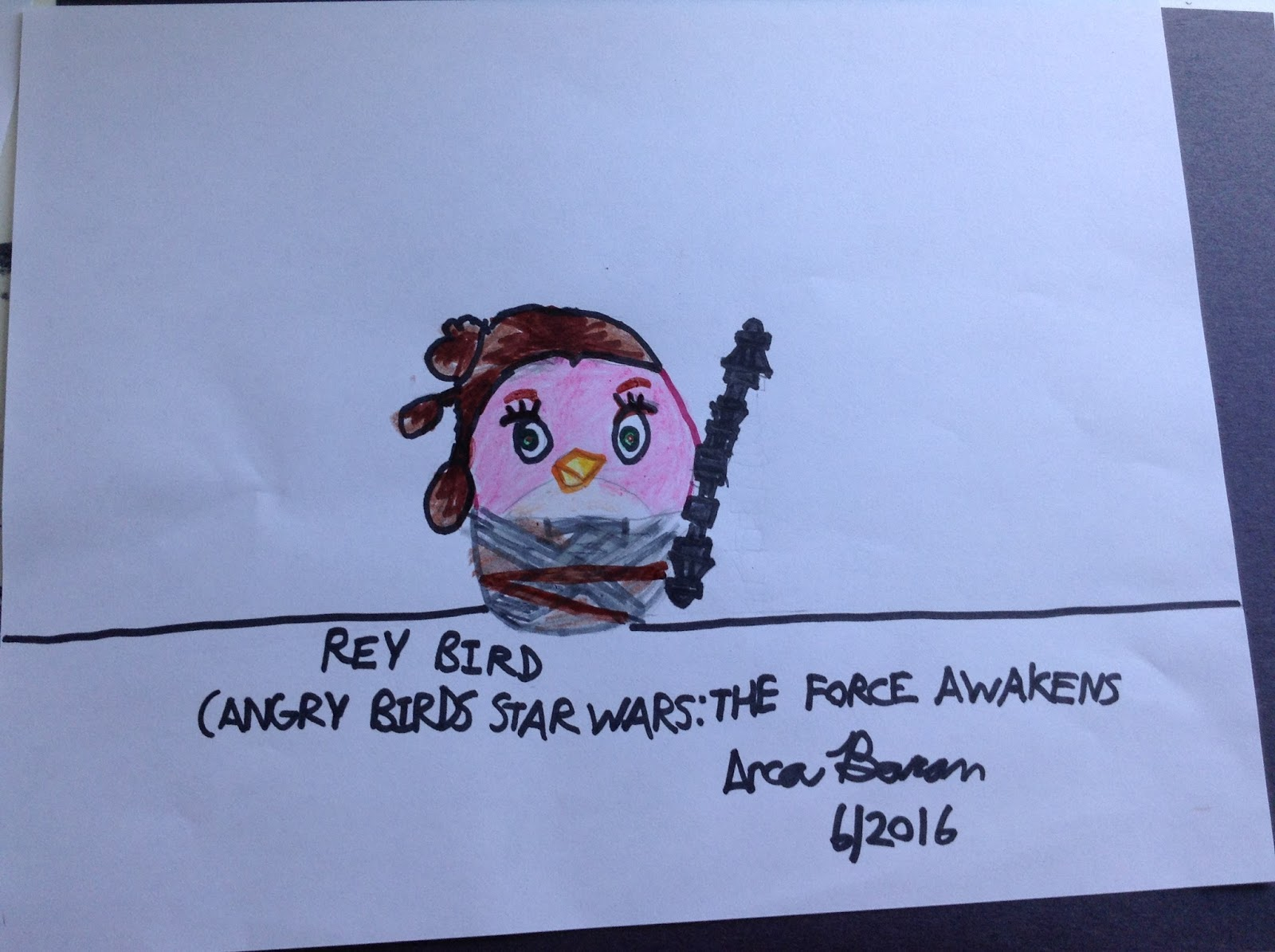 Angry birds star wars the force awakens fan art kylo ren - Angry birds star wars 7 ...