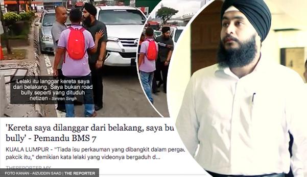 Didakwa melakukan khianat, pemandu BMS mengaku tidak bersalah