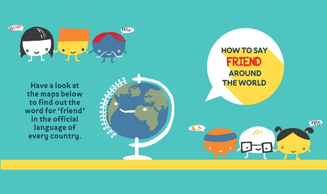 How to Say 'Friend' Around the World