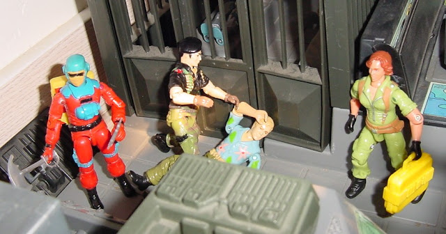 2006 Lady Jaye Comic Pack, Funskool Flint, Barbeque, BBQ, Chuckles