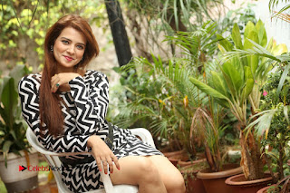 Actress Saloni Latest Pos in Short Dress  0382.JPG