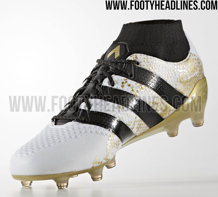 White   Gold Adidas Ace Primeknit Stellar Pack 2016-2017 Boots Released -  Footy Headlines 6a38b7159ba