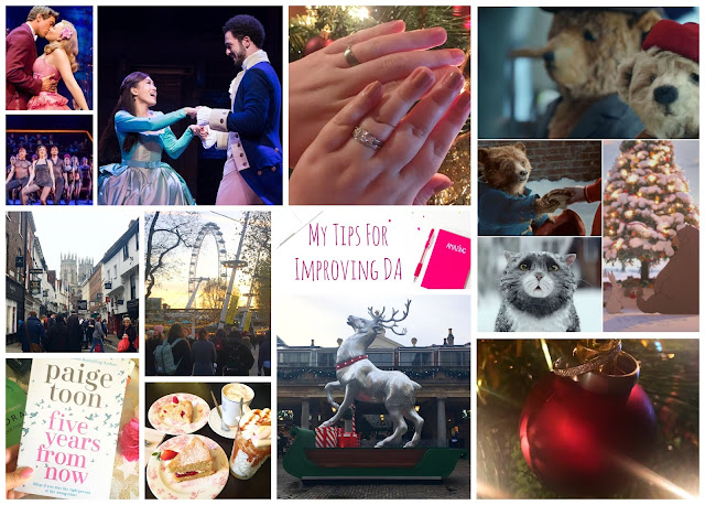 My favourite blog posts including musical theatre, christmas adverts, tips for improving DA, London, York and getting married