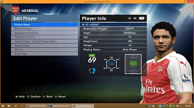 PES 2016 Update Winter Transfer 2016 #16/01/2016 For PTE 3.1 by Boris