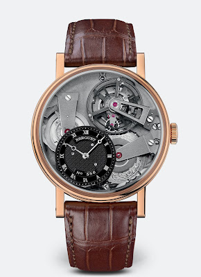 Breguet Tradition Tourbillon 7047 18k gold case-back