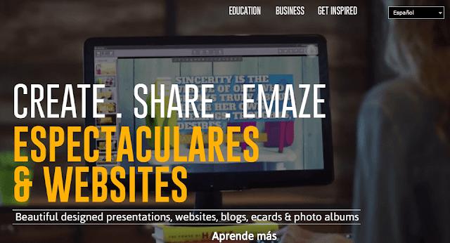 emaze-presentaciones-en-línea