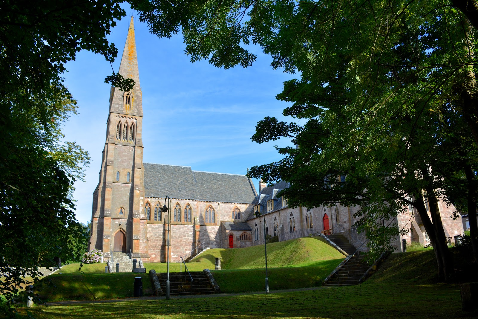 Cathedral of the Isles on Cumbrae