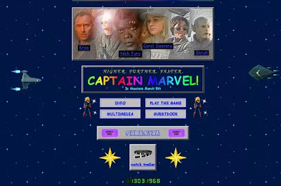 web, tech, tech news, news, ENTERTAINMENT, Marvel launched a great website, promote Captain Marvel, Captain Marvel, Marvel, design