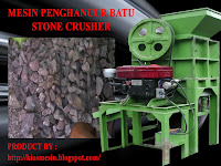 MESIN PEMECAH BATU / MESIN PENGHANCUR BATU ( STONE CRUSHER )
