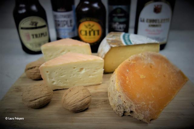 Queijos e cervejas do norte da França, a harmonizão perfeita !