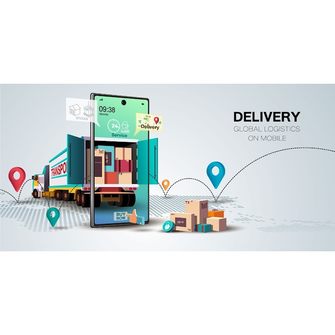 Online delivery service concept Free vector
