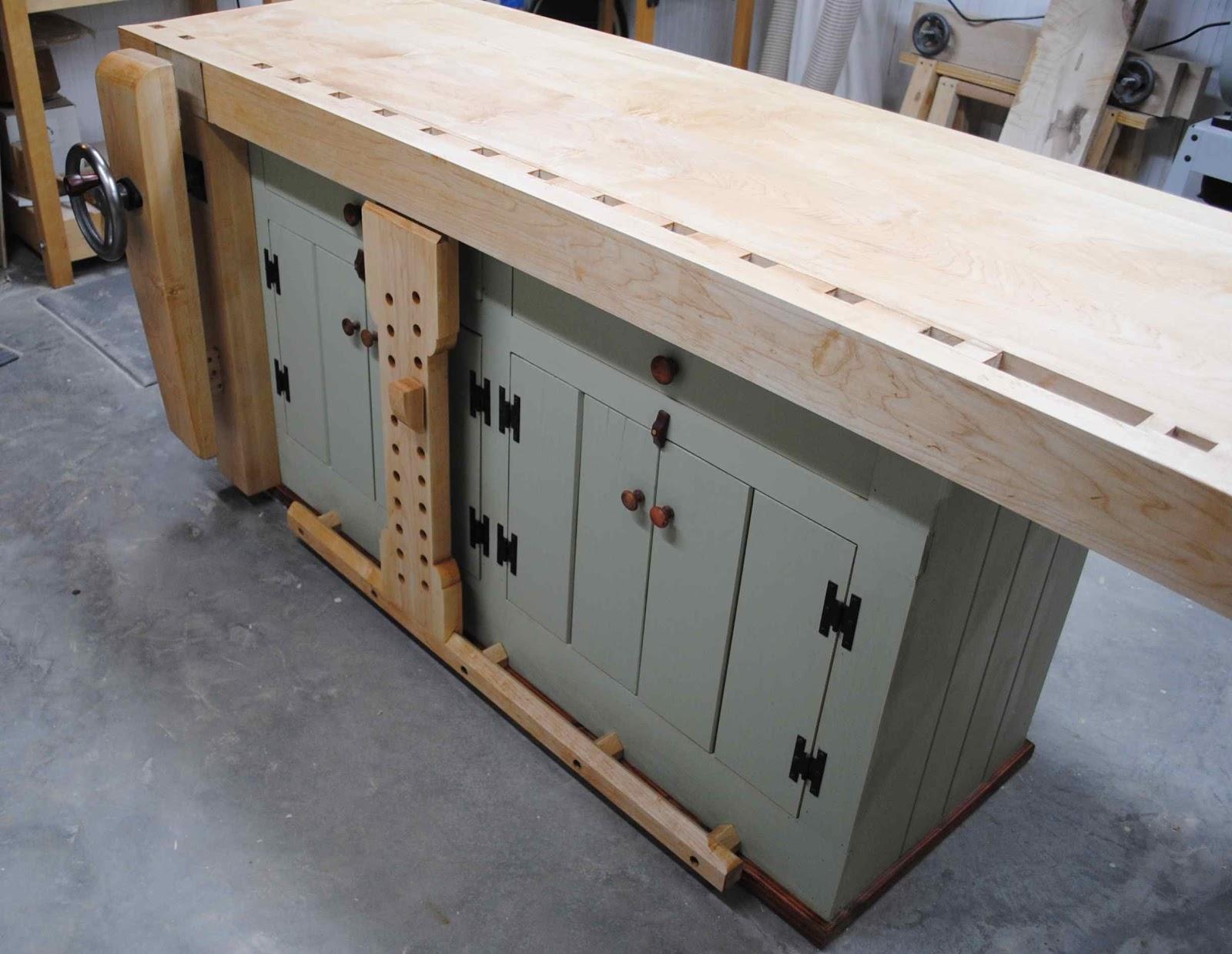 woodworking bench overhang | download wood plans