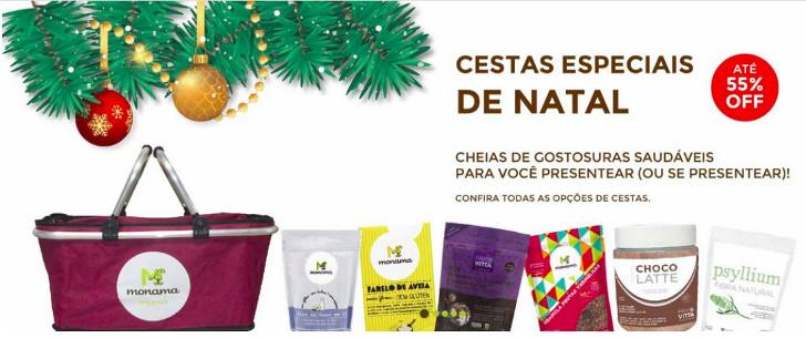Cestas Especiais de Natal Monama e Farovitta