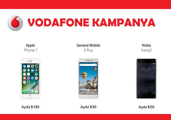 Vodafone kampanya, Vodafone, Vodafone faturalı hatta telefon, Vodafone Kampanyaları