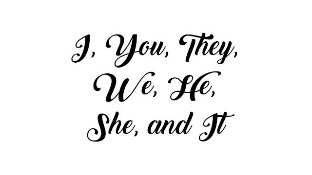 Penggunaan Subject I, You, They We, He, She, dan It beserta Soal Latihannya