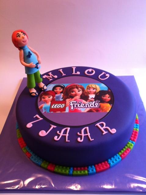 Iets Nieuws Lego Friends taart | Taarten; Gemaakt door Jonne @ML85