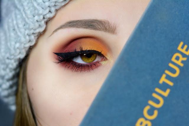 Jesienny makijaż paletą Subculture