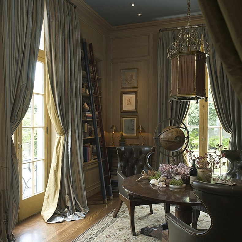 Old Study Room Design: French Inspiration