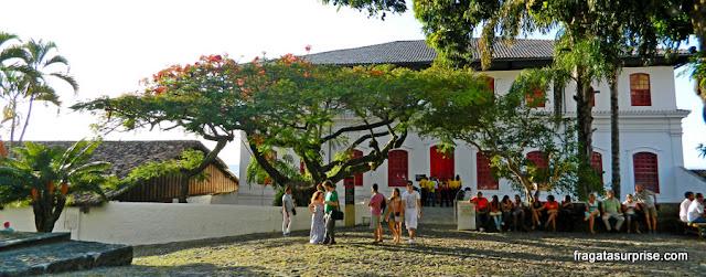 Antiga casa-grande do Unhão, hoje sede do Museu de Arte Moderna da Bahia