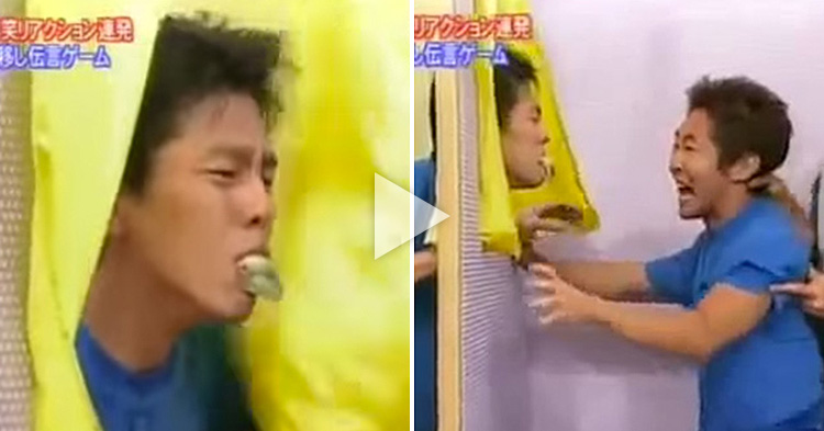 "Watch the craziest Japanese ""Passing Game"" ever"