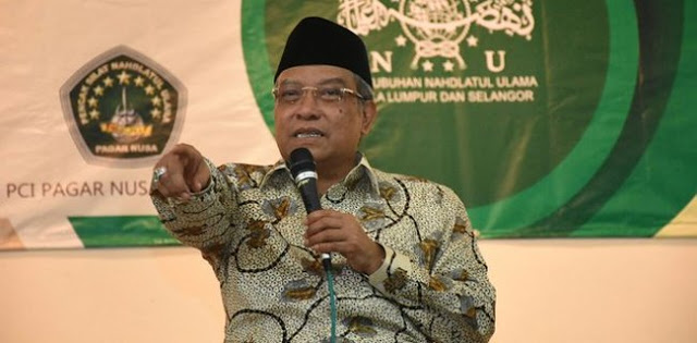 Pemuda Aswaja: Mayoritas Warga Nahdliyin Ingin Kiai Said Dampingi Jokowi