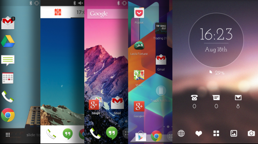 Mengubah tampilan Android dengan Launcher Android Terbaik dan Ringan