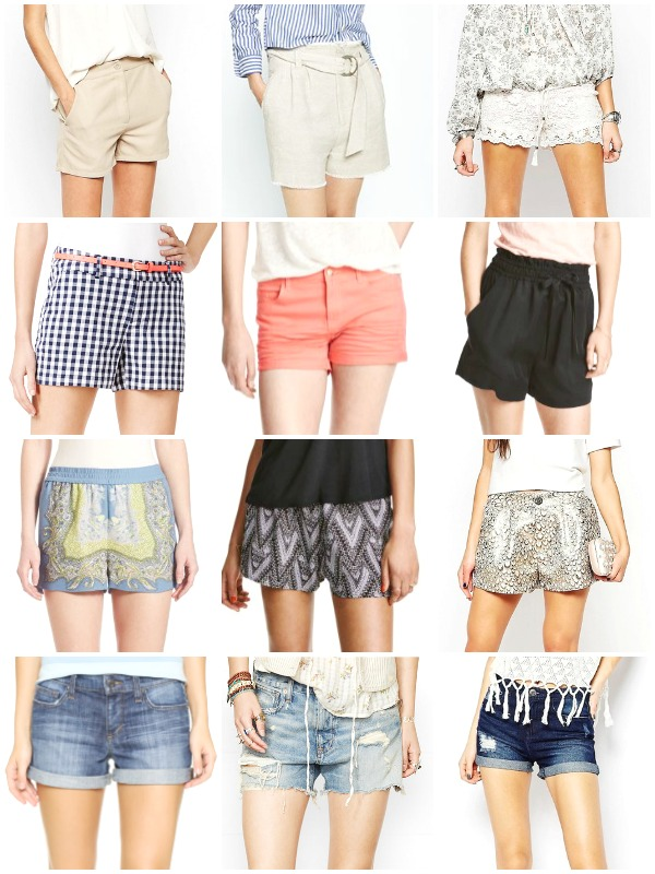 Summer Fashion - Shorts - Ioanna's Notebook