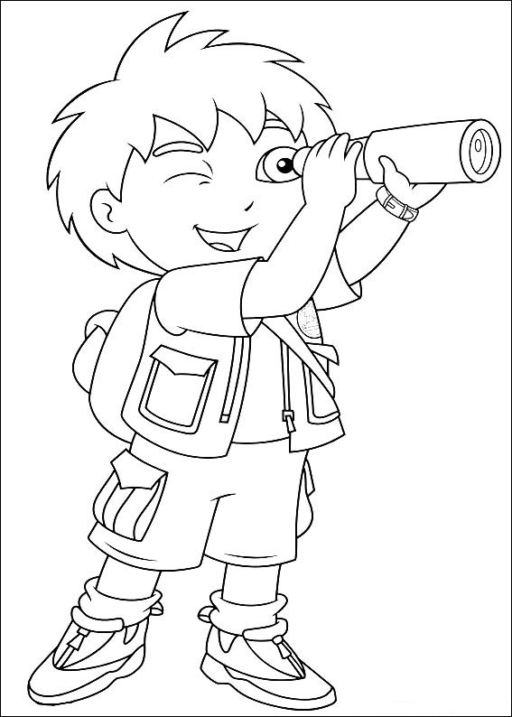 deigo coloring pages - photo#15