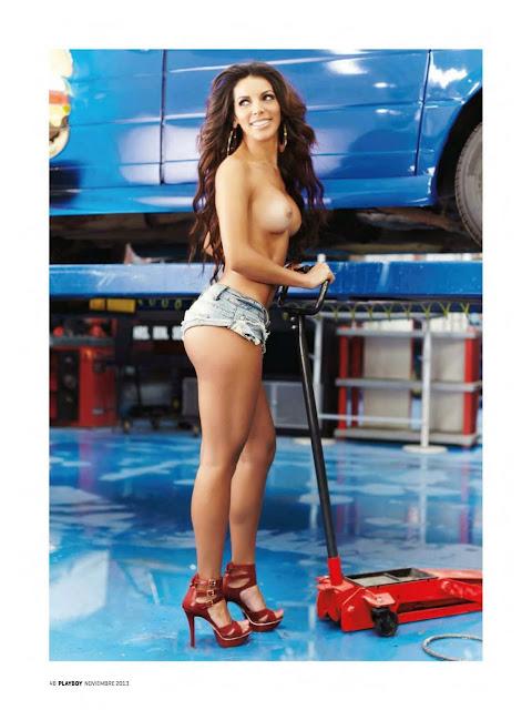 Playboy México Noviembre 2013 [Vanessa Calzada ·La Bujia] [Revista Completa En PDF]
