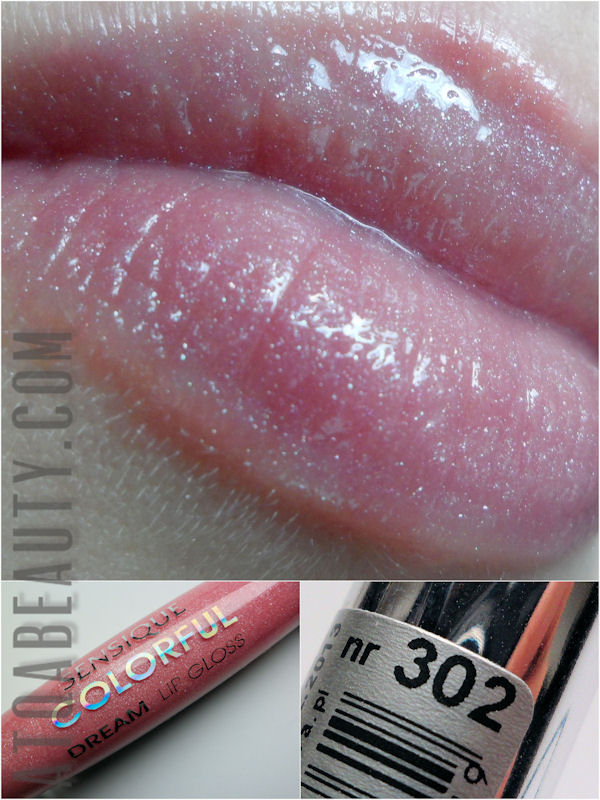 Sensique, Colorful Dream Lip Gloss, 302