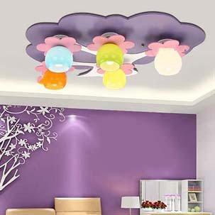 Gợi ý một số loại đèn trang trí phòng ngủ trẻ em cho bố mẹ lựa chọn