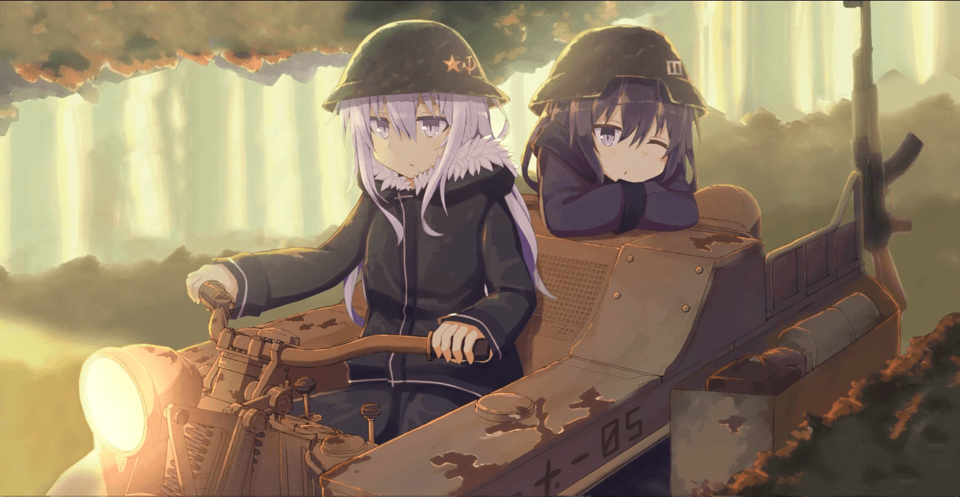 Kantai Collection Akatsuki & Hibiki's Last Tour 1080p 30fps [Wallpaper Engine Anime]