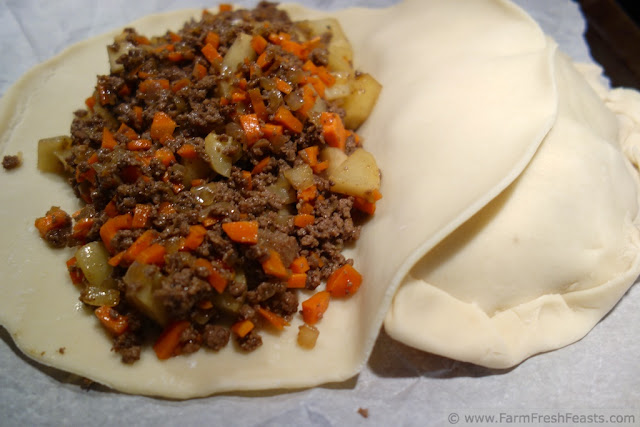 http://www.farmfreshfeasts.com/2013/03/pasties-meat-pie-for-pi-day.html Done